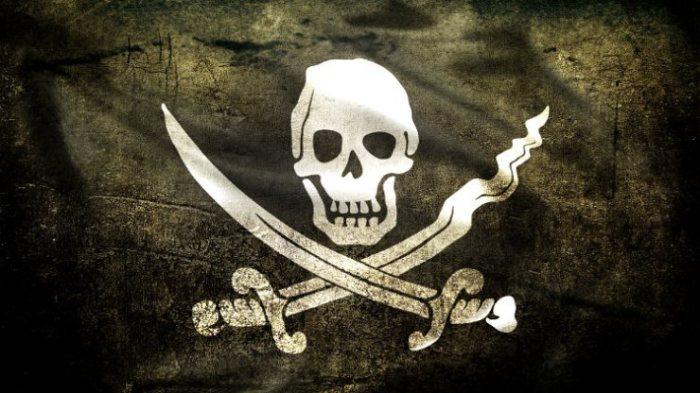 «Веселый Роджер» - пиратский флаг Джека Рэкхема.   Фото: labrujulaverde.com.