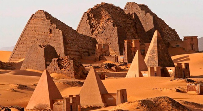 Пирамиды древней Нубии.
