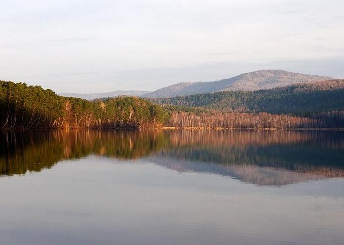 Панорама озера Инышко./ Фото: ufonew.ru